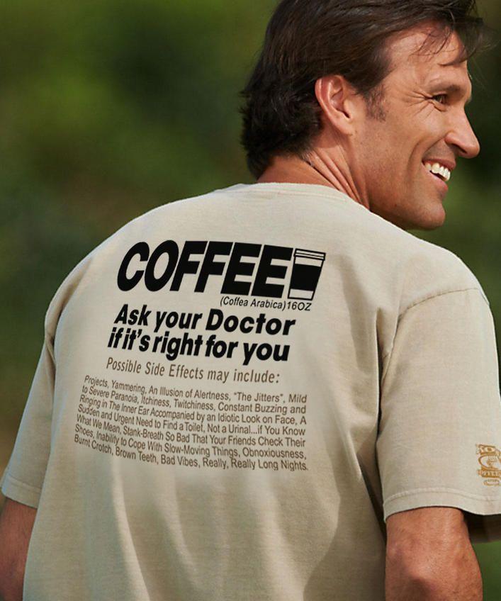 Coffee RX - Kona Coffee-Dyed Classic Crew