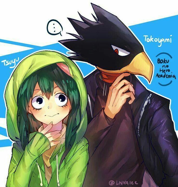 21 Couple Wallpaper Casal Boku No Hero Anime Kawaii Casais De Anime Filmes De Anime