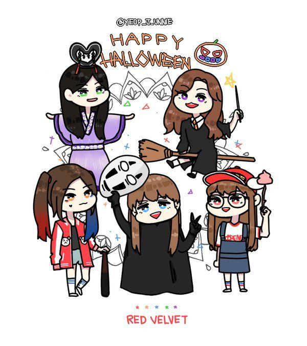 RV @halloween day 2015 fanart