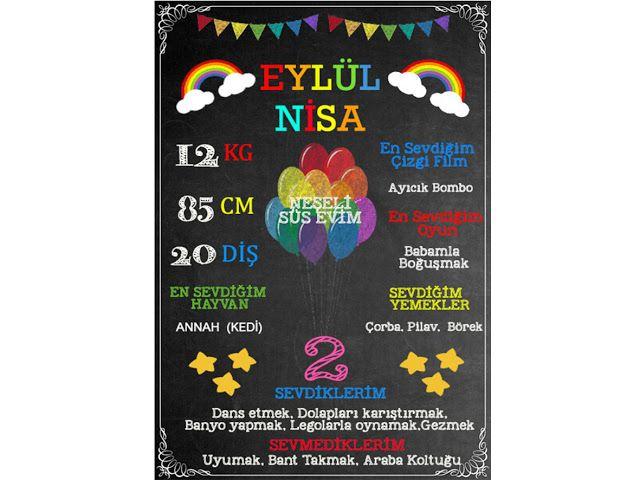 Chalkboard Siparişlerimiz Rengarenk ! - Neşeli Süs Evim - Ücretsiz Doğum Günü Süsleri
