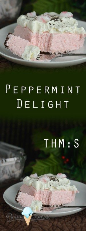 You have options, folks! Enjoy this as a simple no-bake peppermint cheesecake, or add whipped cream, chopped sugar-free peppermints, and 85% dark chocolate on top for a decadent peppermint delight! THM:S, low carb, sugar free, gluten/egg free with nut free suggestion