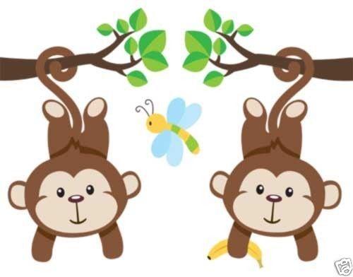 Boy Nursery Jungle Wall Stickers
