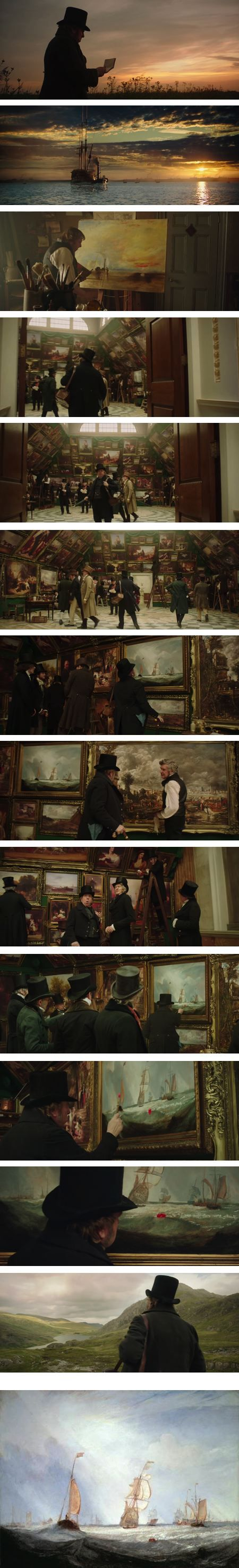 Mr. Turner, JMW Turner biopic starring Timothy Spall It was BEAUTIFL and mindful and Timothy Spall WAS BRILLIANT and I LOVED it. It will be a flu movie for me. 20/10