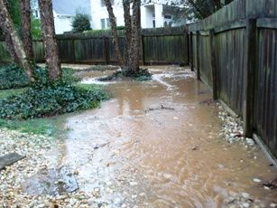 Good Drainage Requires That The Yard Be Graded To Direct Water Away From  The Foundation Of