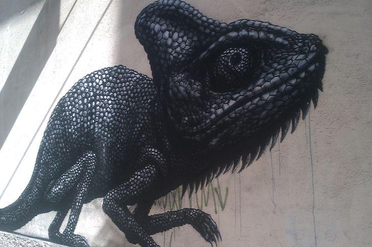 Street Art in Soho Malaga, Malaga Centre (Andalusia, Spain)