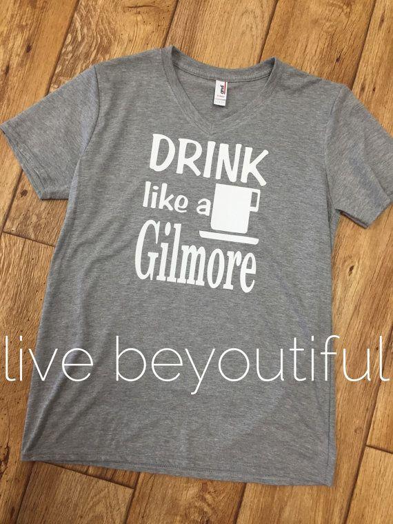Gilmore Girls Shirt  Gilmore Girls Shirts  by livebeyoutiful