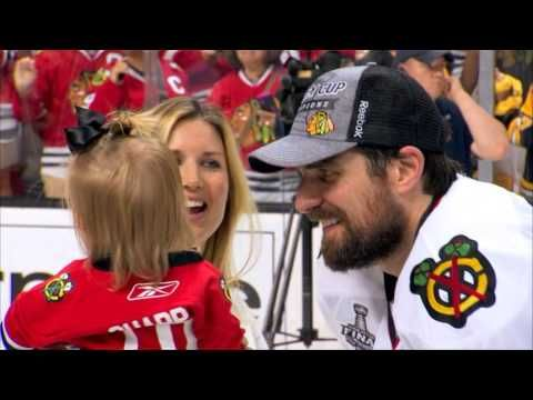 "Chicago Blackhawks - 2013 Stanley Cup Champions - YouTube ""a moment you'll never forget."""
