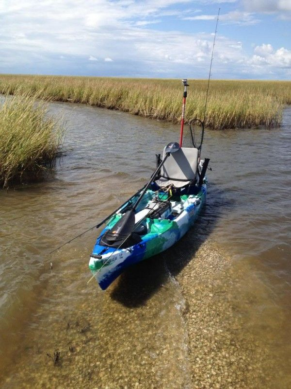 129 best images about kayak fishing on pinterest for Best fly fishing kayak