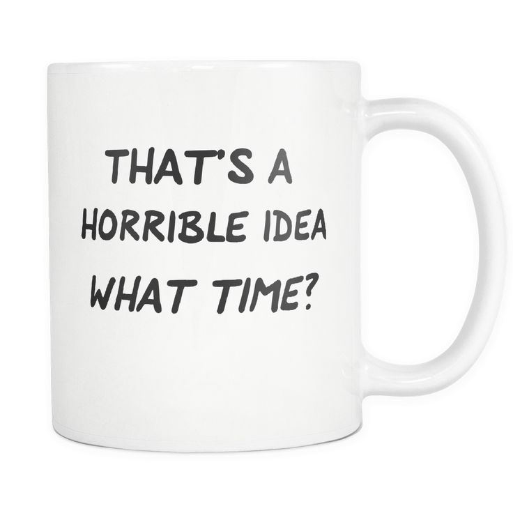 11 oz novelty mugs printed on the highest grade ceramic mugs Printed on both sides exactly as shown Large, easy to grip C handle for easy, convenient use 100% Dishwasher and Microwave safe Great for c