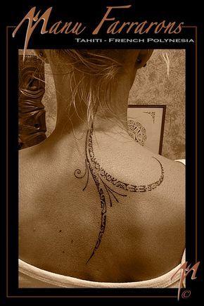 tattoo polynésien discret