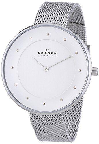 Skagen Damen-Armbanduhr Analog Quarz Edelstahl SKW2142: Amazon.de: Uhren