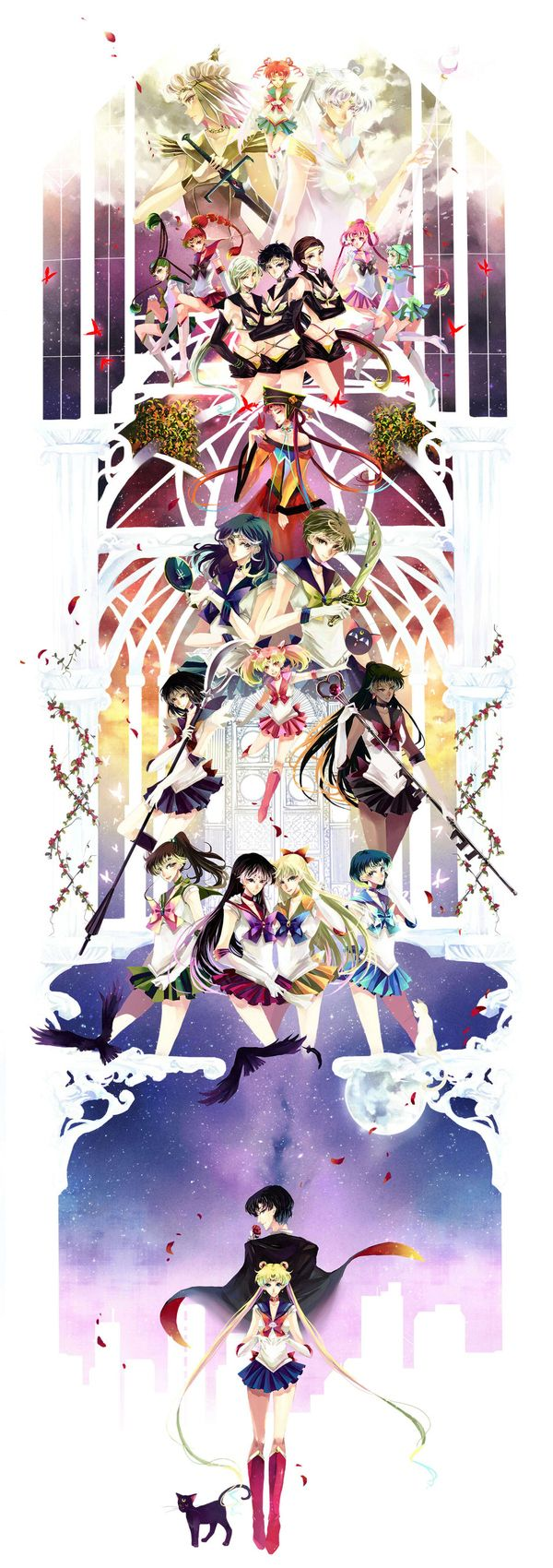 Super Pretty (And Very Large) Sailor MoonArt
