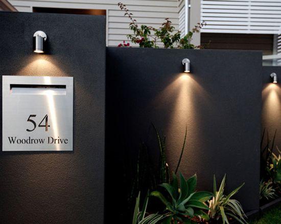 Kotak surat minimalis untuk ide pagar rumah anda ~ Teknologi Konstruksi Arsitektur