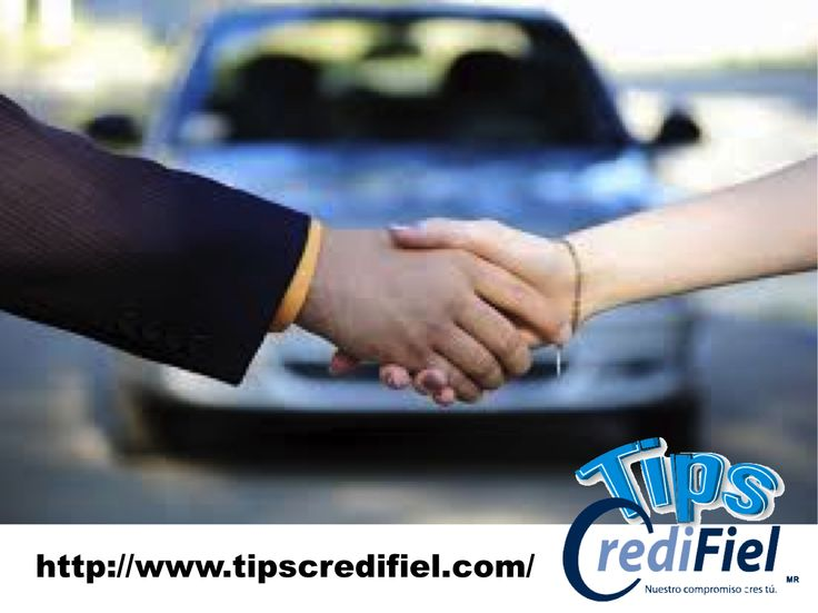 TIPS CREDIFIEL te dice algunos tips si vas a comprar un carro. Al comprar autos usados, busque lo que se denomina como la garantía para carro usado certificado. Es una en la que el concesionario verifica el vehículo para que cumpla con los estándares del manufacturero y le dan una garantía como si fuera un auto nuevo. http://www.tipscredifiel.com/