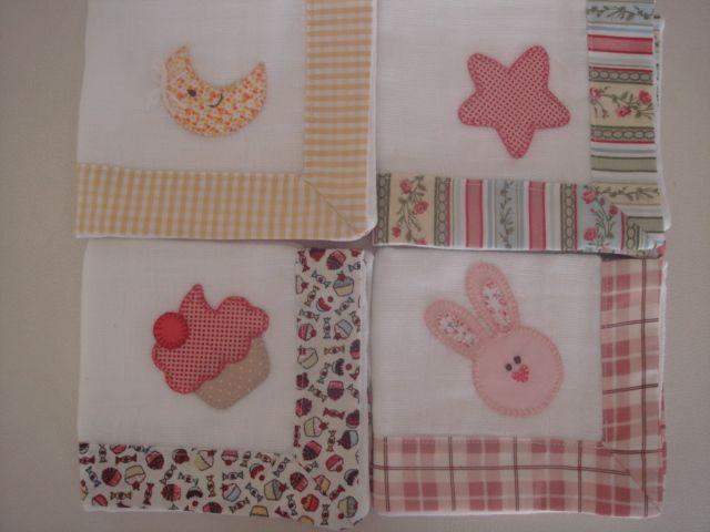 fraldas para bebe em patchwork - Pesquisa Google