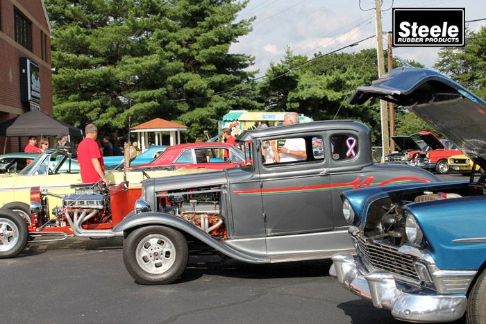 Steele Rubber Products Open House and Car Show