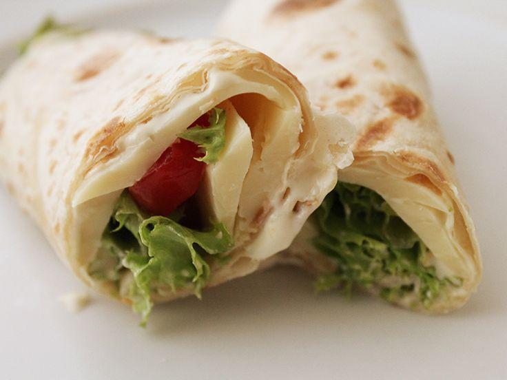 Wrap com Pasta de Soja   #vegetariano #light