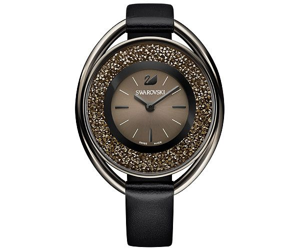 Add a glamorous sparkle to your wrist with this innovative Swarovski timepiece. It features a unique oval case for a sleek look. Specifications: case ... Shop now