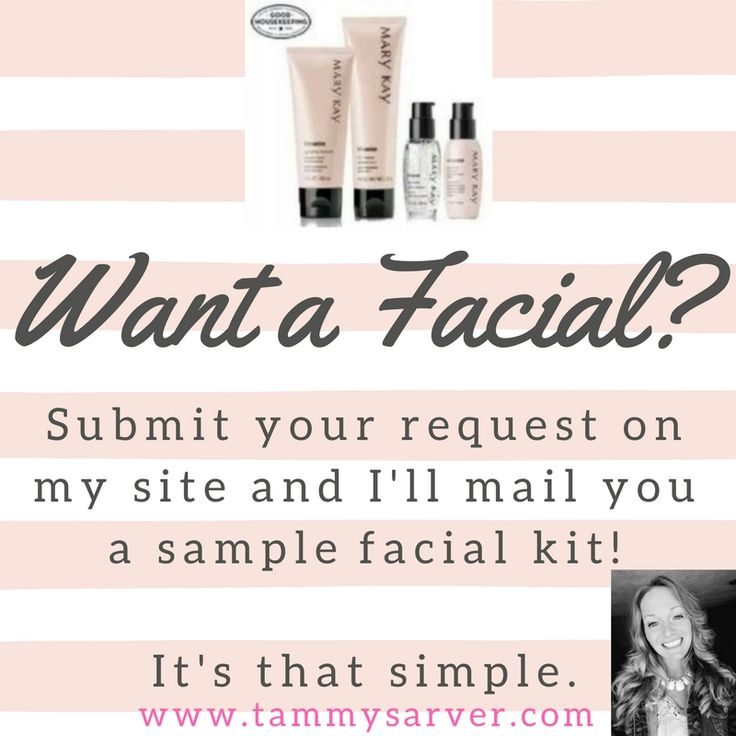 Want a free Mary Kay Facial kit? Register at tammysarver.com and I'll get samples of the Mary Kay Miracle Set sent to you! This includes our TimeWise 3-in-1 Facial Cleanser, TimeWise Facial Moisturizer and the Day & Night Solutions! #Samples, #Facial, #MiracleSet #MaryKay