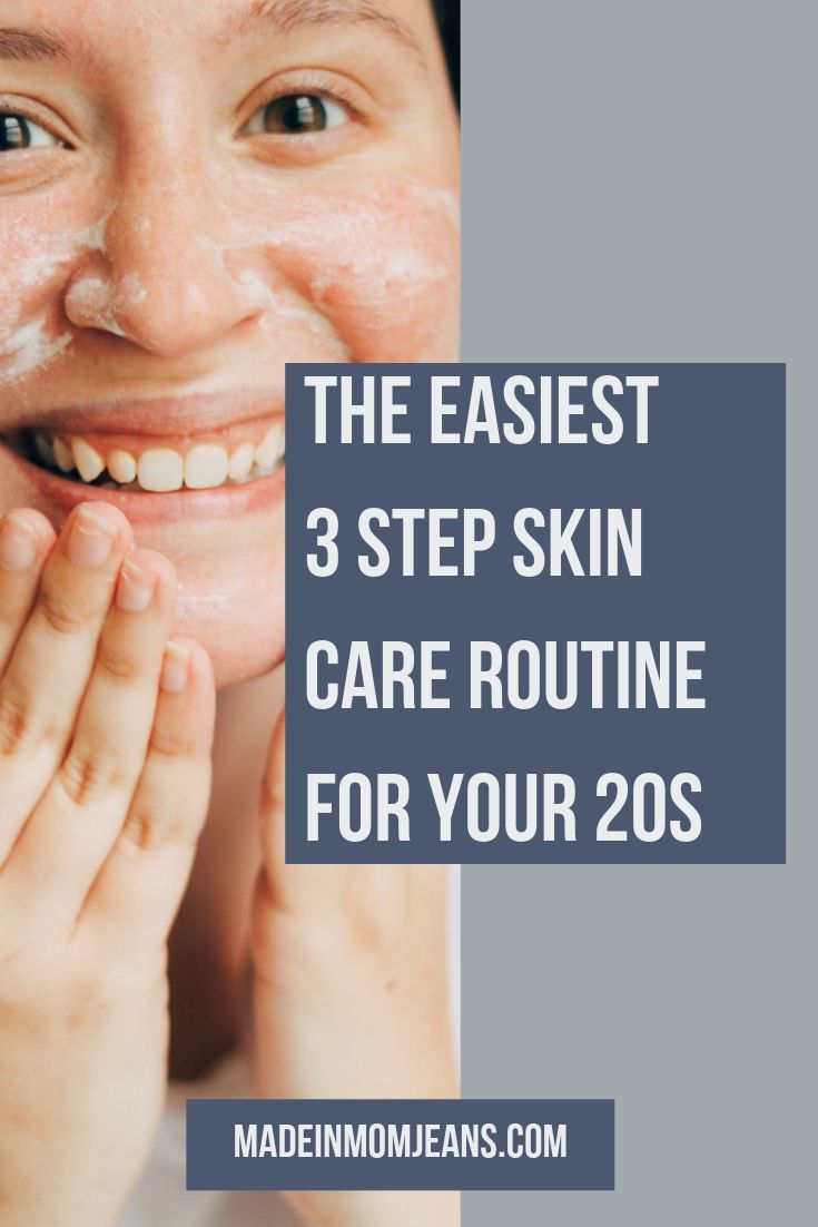 Looking For A Skin Care Routine That Doesn T Take A Ton Of Time This 3 Step Skin Care Routine For Wo Skin Care Routine Steps Skin Care Routine Skin Care Women