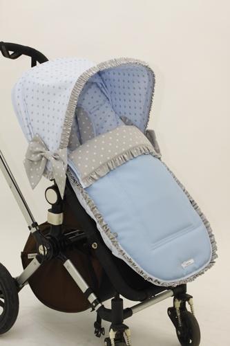 Funda capota y saquito para bugaboo camale n por baby luna for Coches para bebes