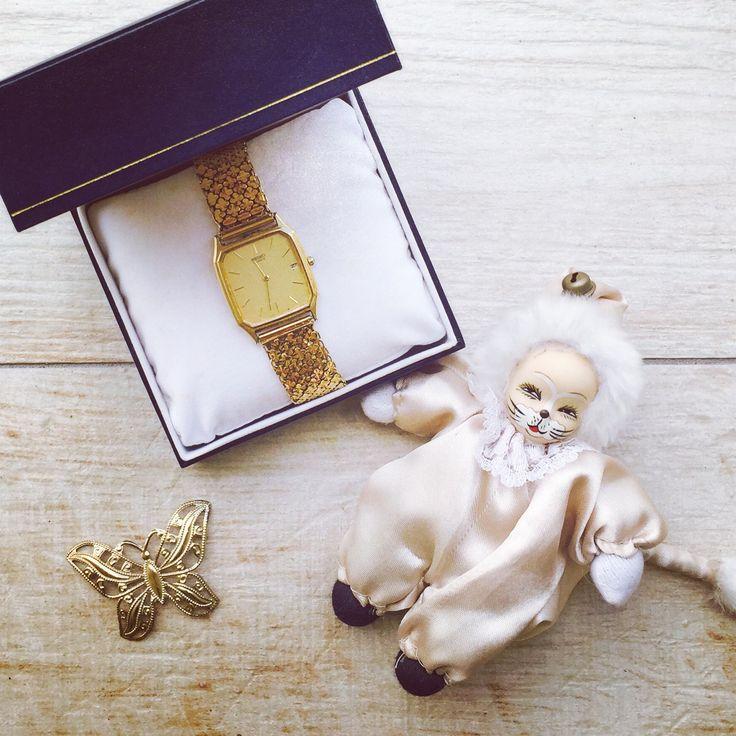 Going old-style gold for the Oscars A treasure from mum's collection, SEIKO Watches - Australia #Oscars #Oscars2015 #lfw #fashion #FashionWeek #FashionPolice #FashionNetwork #FashionBloggers #WatchItStyleItBlogIt #FrockUp #Style #StyleNetwork #TimelessPiece #seiko #GrandSeiko #Perfection #StyleIcon #SeikoWatches
