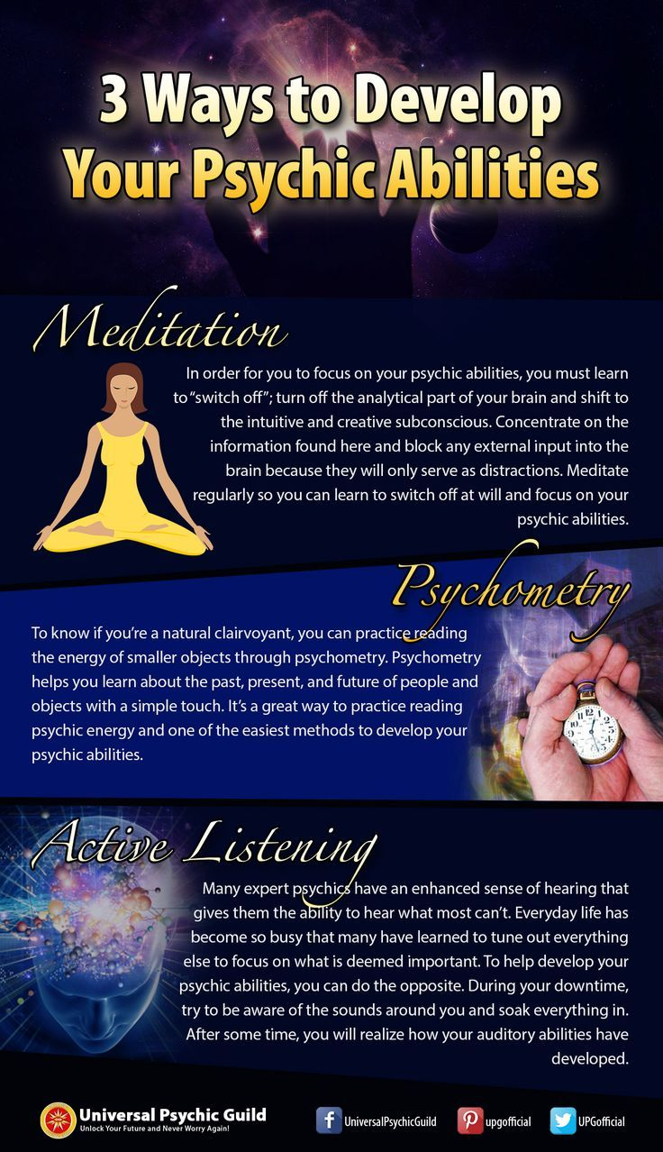 3 Ways to Develop Your #Psychic #Abilities - http://www.psychicguild.com/blog/psychic-abilities/3-ways-to-develop-your-psychic-abilities/