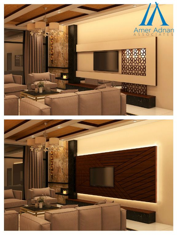 Modern TV Wall Design Idea For Living Room To Increase Your Interiors Beauty