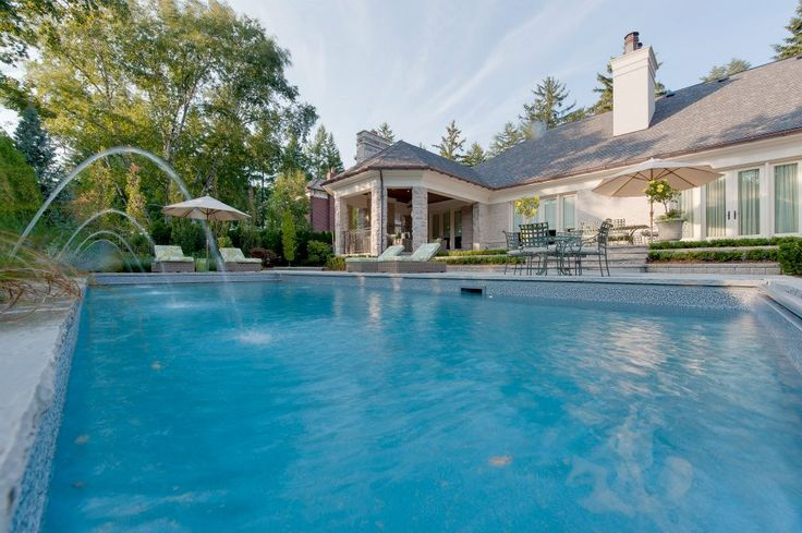 13 best south east oakville ontario luxury home images on - Swimming pools burlington ontario ...