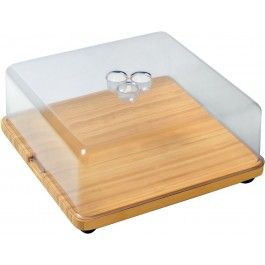 Alessi Programma 8 Cheese Board -Wood- GR Shop