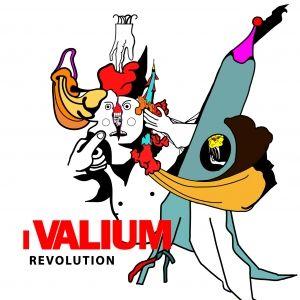 """I Valium – """"Revolution"""". Dodici tracce dal sapore rock che a tratti strizza l'occhio agli anni '60/'70… REVOLUTION è """"rivoluzionario"""" (perdonate il gioco di parole) non solo per gli arrangiamenti, ma anche per i testi dissacranti ed intensi e la scelta (saggia) di spingere l'uso della lingua italiana, di solito abbastanza bistrattata nel mondo del rock. Se amate il sound energico, sporco e che punti dritto dritto alla vostra anima, vi suggerisco di ascoltarvi a fondo questo disco.."""