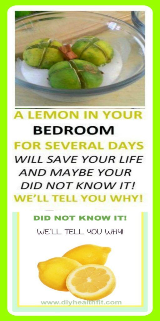 LEAVE LEMON IN YOUR BEDROOM FOR SEVERAL DAYS WILL SAVE YOUR LIFE AND MAYBE YOUR DID NOT KNOW IT! WE'LL TELL YOU WHY!
