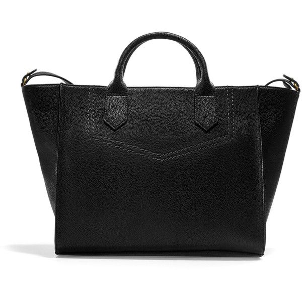 Zara Shopper Bag ($50) ❤ liked on Polyvore