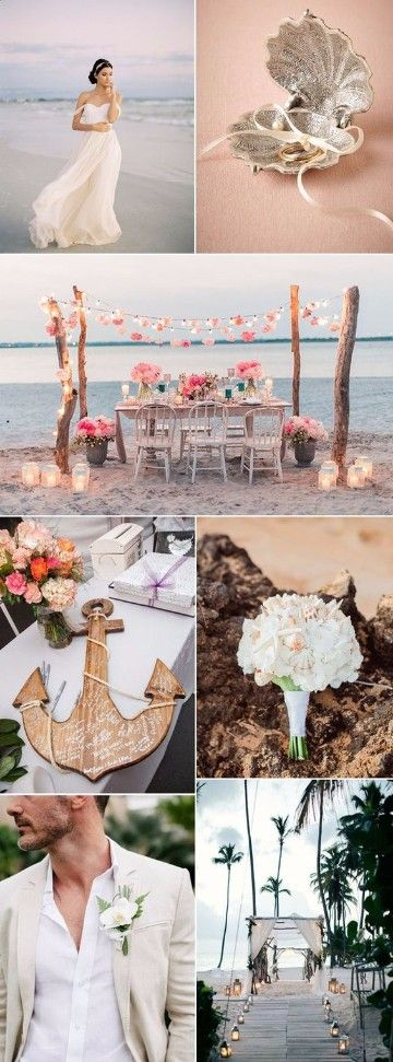 Pasos sobre como organizar una boda en la playa