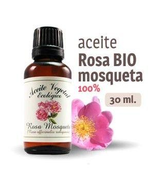 Aceite de rosa mosqueta: antiontiaxidante, hidratación profunda, corrección de arrugas, cicatrices y estrías.