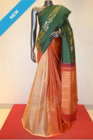 Designer Double Patli Kanjeevaram Silk Saree Product Code: AB203859 Online Shopping: http://www.janardhanasilk.com/Designer-Double-Patli-Kanjeevaram-Silk-Saree?search=AB203859&description=true