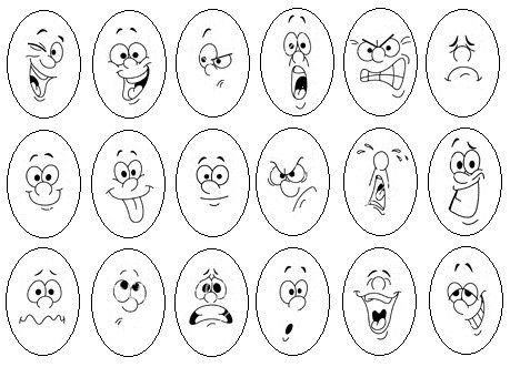Egg face facial expressions  #face, #cara, #Gesicht, #expression, #Ausdruck, #expresión, #character, #design,  #reference, #sketch, #cartoon, #animation, #emotions, #Emotionen, #Gefuehle, #emociones