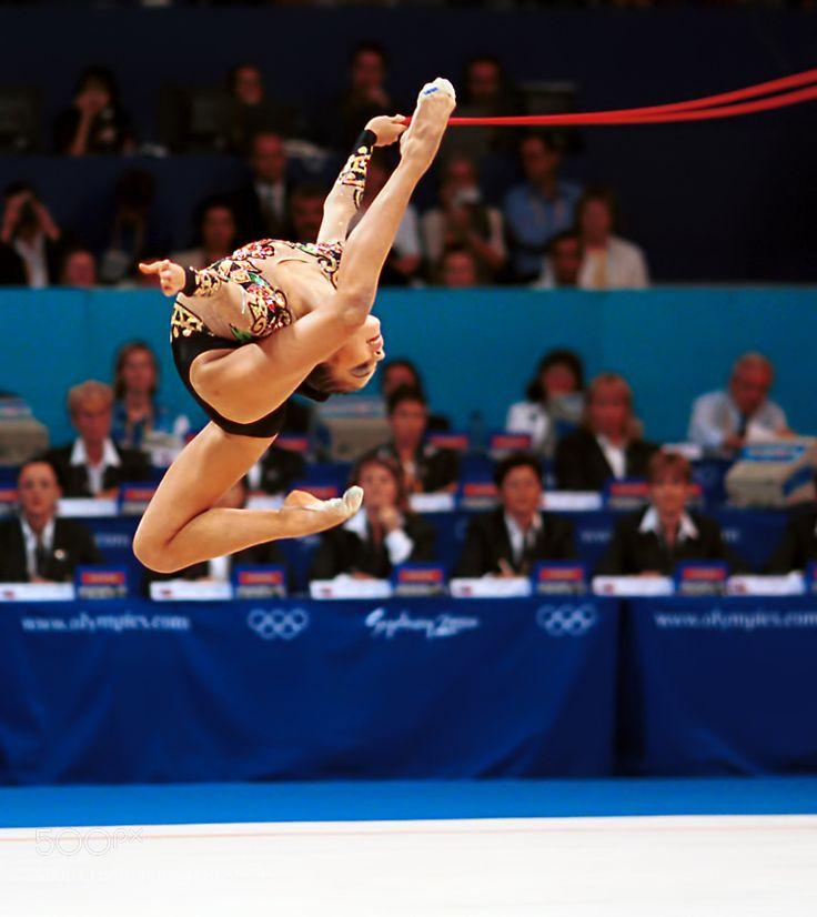 2000 Olympics - Alina Kabaeva Russia by steve-lange