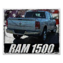 2014 Ram 1500 Quad Cab Outdoorsman Poster