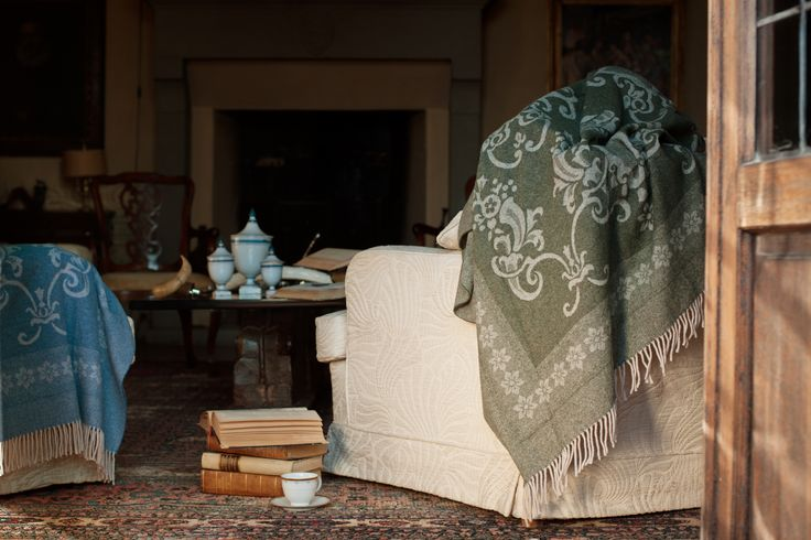 MY BELOVED PLAID THROW BLANKET  TIEPOLO COLLECTION