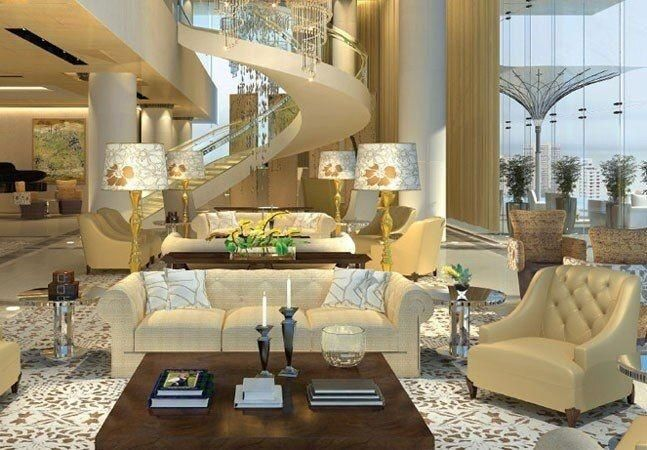 Aboard The Ambani Abode Inside The World S Second Most Expensive House Antilia In 2020 Modern House Design Ambani House Expensive Houses