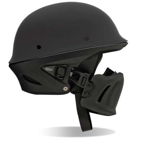 Militarized Motocycle Helmets - The Bell Rogue Helmet is Made for Soldiers at Heart (GALLERY)