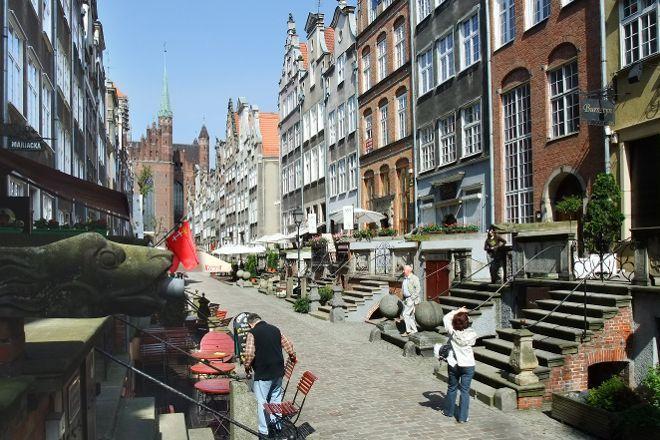 Mariacka Street (ulica Mariacka), Gdansk, Poland
