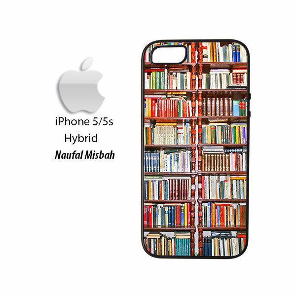 Books Shelf iPhone 5/5s HYBRID Case Cover