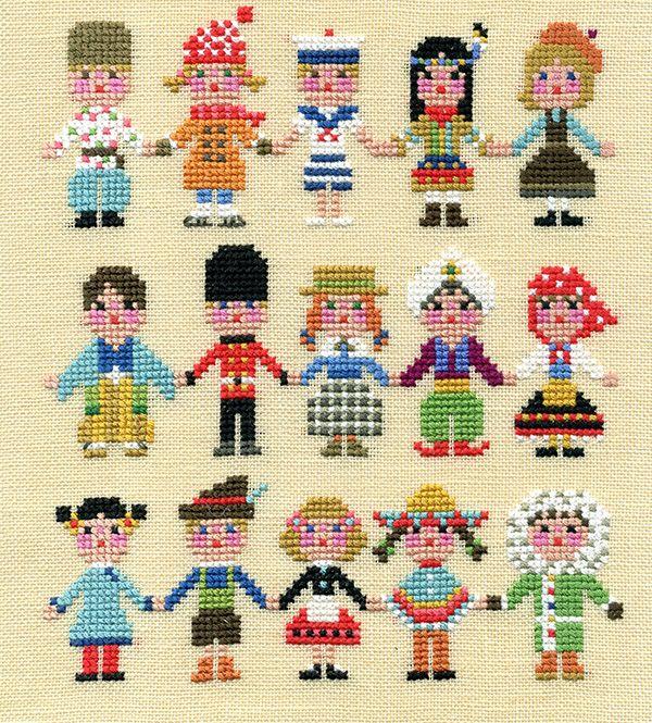 cross stitch & painting