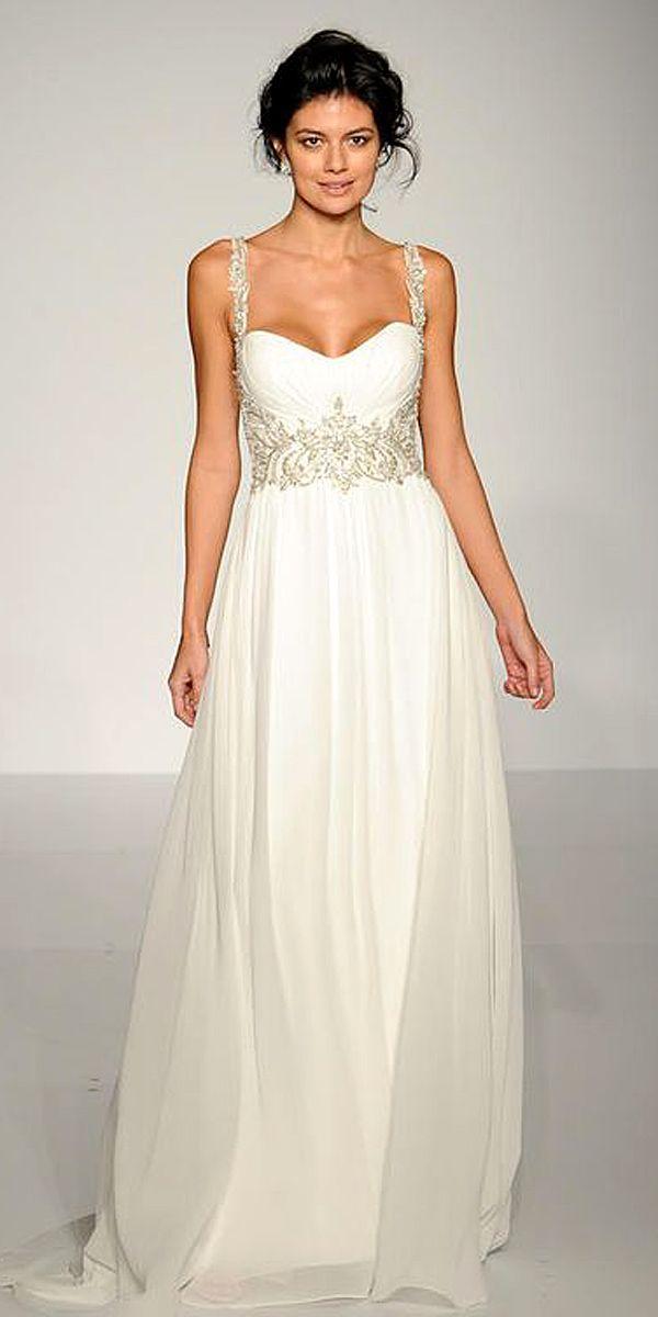 18 Best Of Greek Wedding Dresses For Glamorous Bride ❤ See more: http://www.weddingforward.com/greek-wedding-dresses/ #wedding #dresses