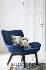 Ellos Home Trendy-nojatuoli Tummansininen - Nojatuolit | Ellos Mobile