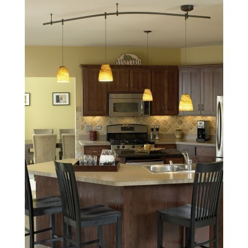 Kitchen Island Track Lighting Ideas: 22 Best Images About Pendant Track Lighting On Pinterest
