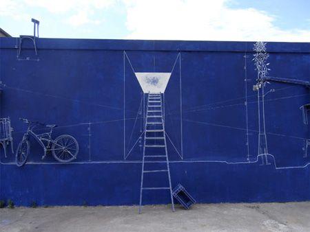 The 83 best blueprint images on pinterest lights light art and creative blueprint art installation 4 malvernweather Image collections