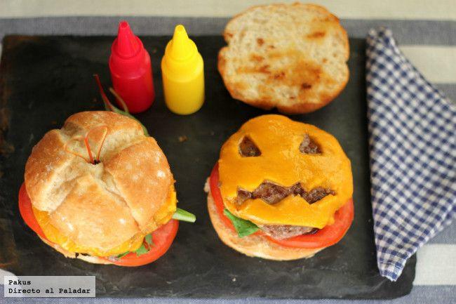 Cómo tunear tus hamburguesas para la noche de Halloween. Divertida manualidad comestible para hacer con los niños, con fotos paso a paso de todo el proceso
